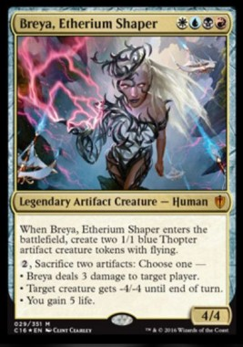 Breya, the Etherium Shaper(統率者2016 神話レア)