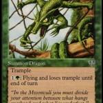 梢のドラゴン