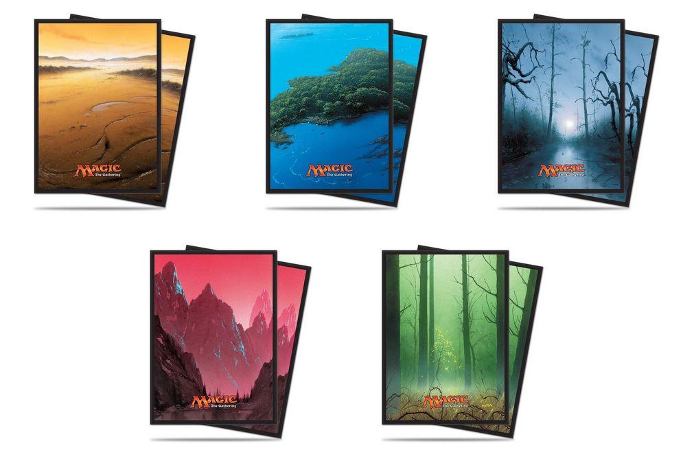 ウルトラプロより「アンヒンジド」のフルアート基本土地イラストを採用したスリーブが発売決定!発売日は2017年3月!