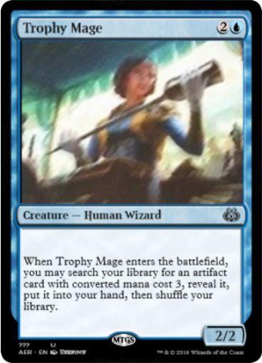 Trophy Mage(霊気紛争)