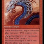 MTG「Shichifukujin Dragon」のカード画像
