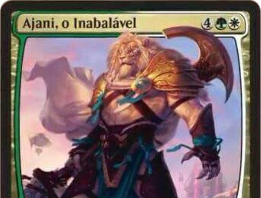 セレズニア色の新アジャニ「Ajani, the Unbreakable」が公開!MTG「霊気紛争」収録の神話プレインズウォーカー・アジャニ!