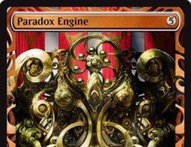 霊気紛争「Paradox Engine」がマスターピース版で先行公開!呪文を唱えるたびに自軍の非土地アーティファクトをアンタップできる伝説のアーティファクト!