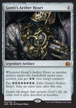 Gonti's Aether Heart(霊気紛争)