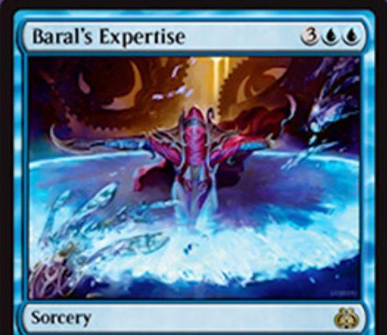 青レアのソーサリー「バラルの巧技(霊気紛争)」が公開!3つまでのアーティファクトやクリーチャーをバウンスし、さらに4マナ以下の呪文を無料プレイ可能に!