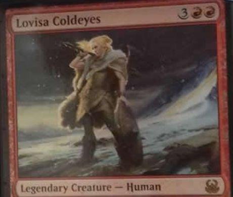 赤の伝説人間「Lovisa Coldeyes(デュエルデッキ 精神vs物理)」が情報公開!アモンケットからの先行収録!?