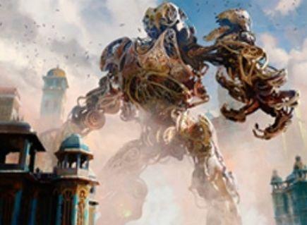 MOスタン大会上位「金属製の巨像」のデッキレシピ&考察がMTG公式サイトに掲載!霊気紛争より「産業の塔」を4積みしたディミーア・カラーのコロッサス・デッキ!