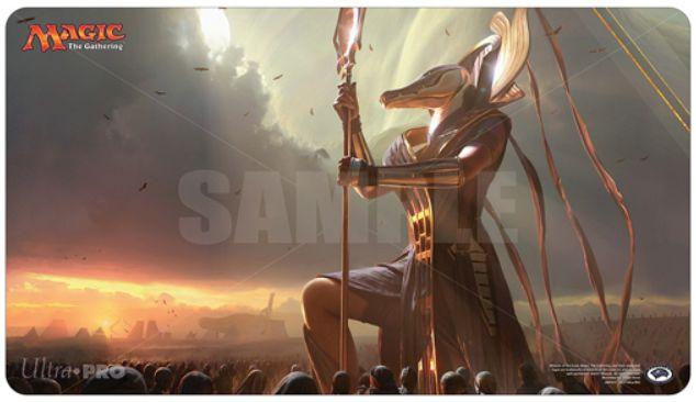 MTG「アモンケット」の先行公開イラストを使用したプレイマットがウルトラプロより発売!発売日は2017年4月下旬!