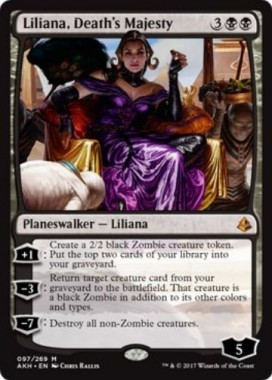 Liliana, Death's Majesty(アモンケット)