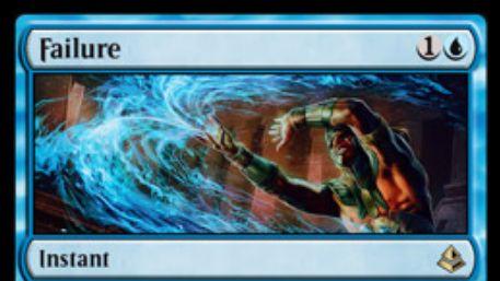 青と白のレア分割呪文「Failure/Comply」が公開!呪文バウンス&余波効果でカード名を指定し、次の自ターンまでプレイ不可に!