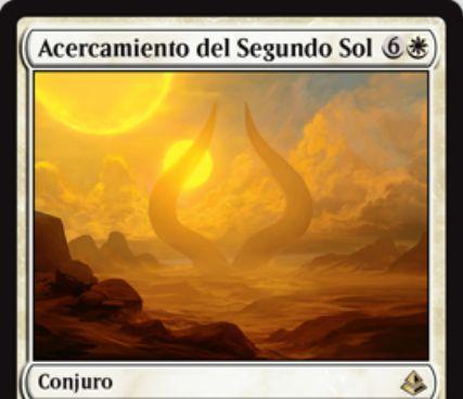 白レアのソーサリー「Ascension of the Second Sun」が公開!ゲーム中に2回唱えれば勝利!1回目ならば7ライフを得てライブラリートップから7枚目に戻る!