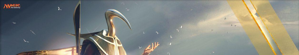 アモンケット「周到の神ケフネト」がMTG公式壁紙のラインナップに追加!青の伝説神話ゴッドが赤ゴッド「ハゾレト」に続いて壁紙化!