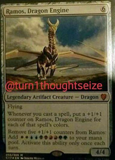 Ramos, Dragon Engine(統率者2017)