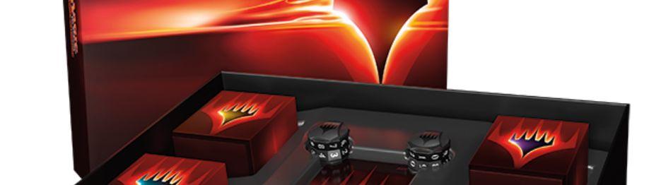 MTG「コマンダー アンソロジー」のパッケージ画像が公開!4種の統率者デッキと特製ライフカウンター、トークンがひとまとめに!