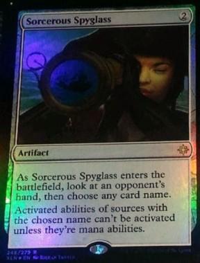 Sorcerous Spyglass(イクサラン)
