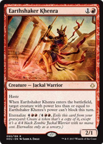 Earthshaker Khenra(破滅の刻)