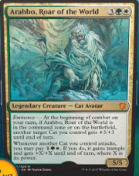 Arahbo, Roar of the World(破滅の刻)