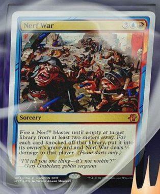 Nerf War(HASCONプロモ)