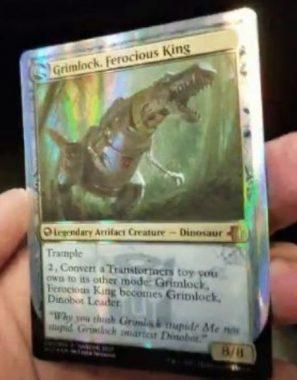 Grimlock, Ferocious King(MTG HASCONプロモ)
