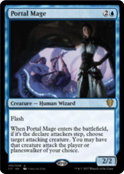 Portal Mage(統率者2017)