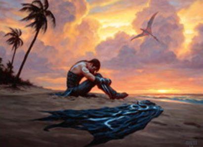 イクサラン収録の「基本土地」がイラスト公開!全種に「漂流するジェイス」が描かれたアートを採用!