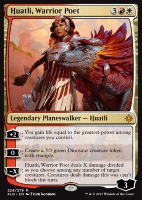 Huatli, Warrior Poet(イクサラン)
