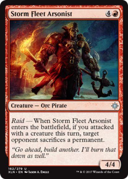 Storm Fleet Arsonist(イクサラン)