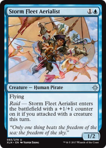 Storm Fleet Aerialist(イクサラン)