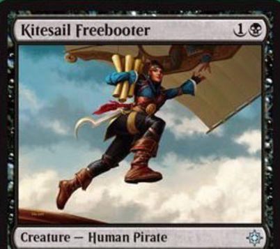 黒アンコの海賊人間「Kitesail Freebooter」が公開!CIPにて「潮の虚ろの漕ぎ手」のような追放ハンデスを誘発!