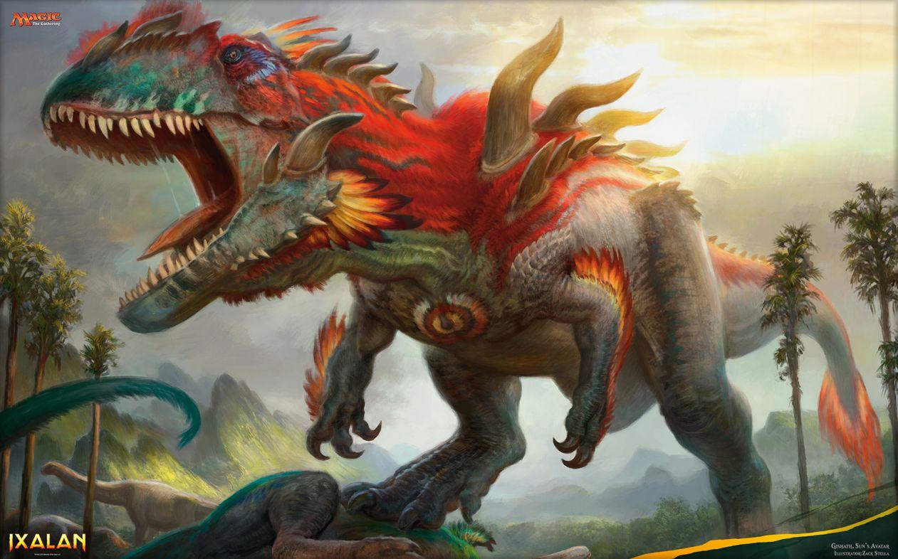 恐竜のmtg壁紙