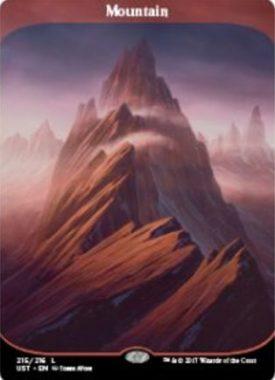 山(アンステイブル収録フルアート土地)公式版
