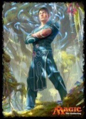 巧妙な精神魔道士、ジェイス(MTG「イクサラン」プレイヤーズカードスリーブ)