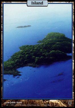 島(アンヒンジド)