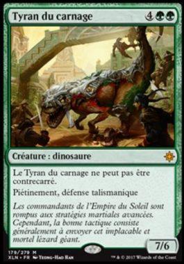 Tyran du carnage フランス語(仏語):MTG他言語カード