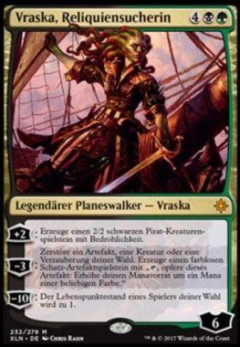 Vraska, Reliquiensucherin ドイツ語(独語):MTG他言語カード