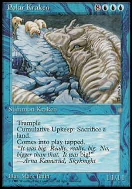 Polar Kraken(MTG 11/11クリーチャー)