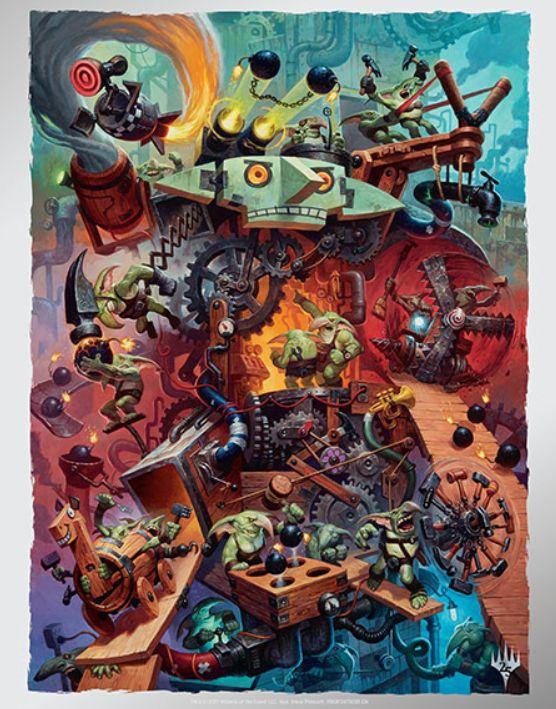 ゴブリンの爆発屋/Goblin Explosioneers(MTG「Unstable」陣営)