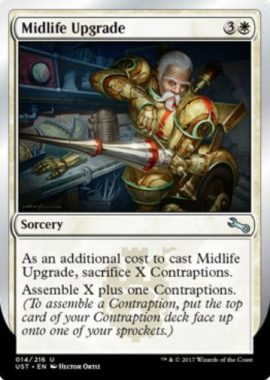 中年の改造/Midlife Upgrade(MTG「Unstable」収録)