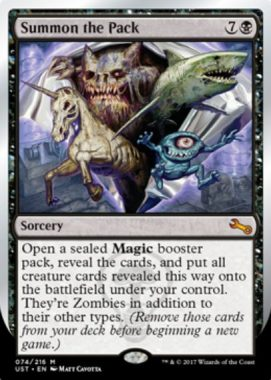 Summon the Pack(MTG「Unstable」収録)