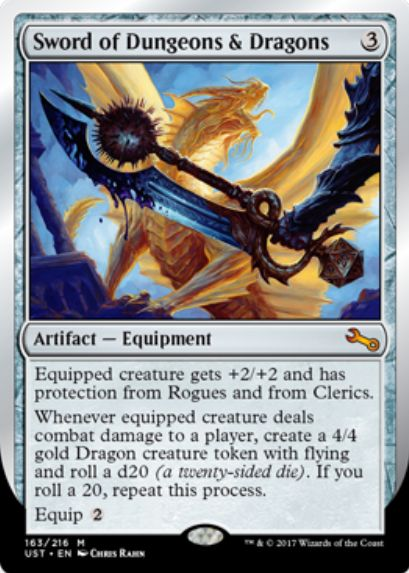 Sword of Dungeons & Dragons(MTG「Unstable」収録)