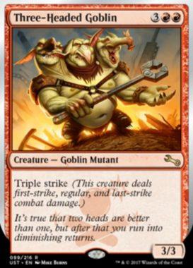 Three-Headed Goblin(Unstable)