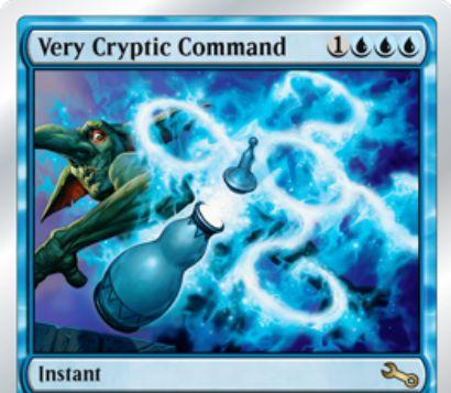 Unstable「Very Cryptic Command(すごく謎めいた命令)」が公開!本家と同様に、4つの効果から2つを選ぶ汎用性の高いインスタント!