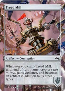Tread Mill(MTG「Unstable」収録の「からくり」アーティファクト・コモン)