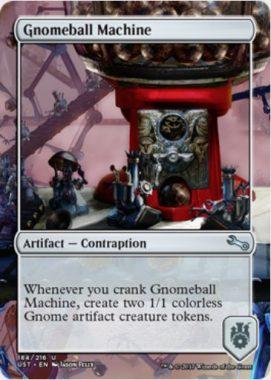 Gnomeball Machine(MTG「Unstable」収録の「からくり」アーティファクト・アンコモン)