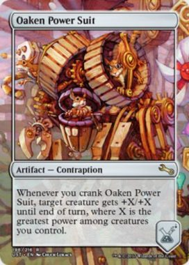 Oaken Power Suit(MTG「Unstable」収録レア・からくり)