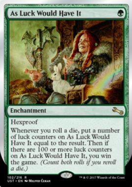 Unstable「運良く/As Luck Would Have It」が公開!サイコロを振るたびに出目の「幸運カウンター」を獲得し、「幸運カウンター」が100個貯まれば勝利!