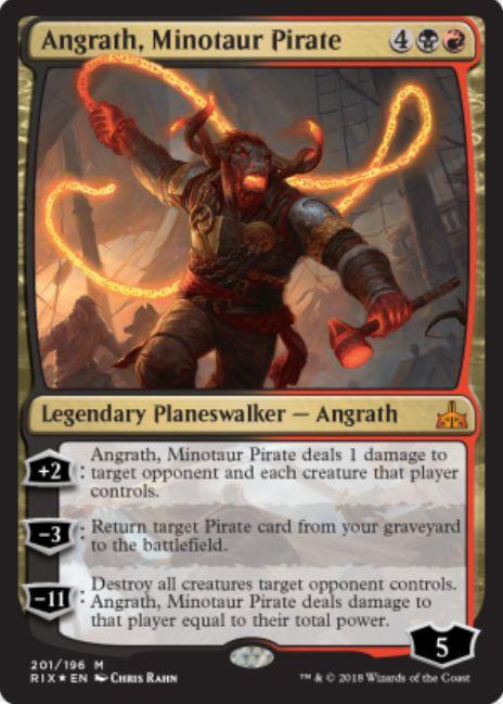Angrath Minotaur Pirate(イクサランの相克 アングラス)