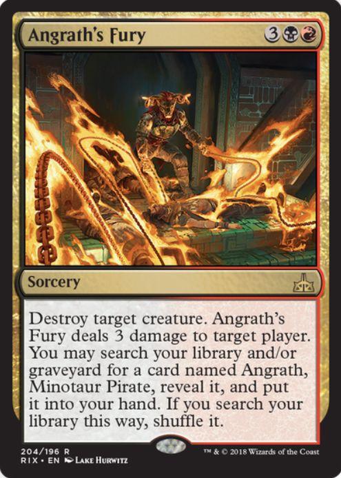 Angrath's Fury(イクサランの相克)