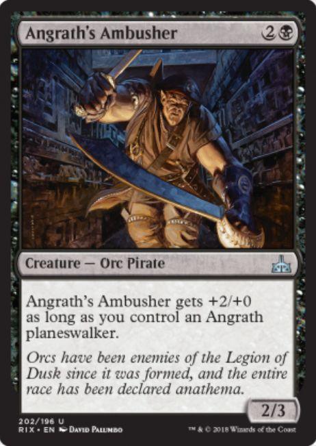 Angrath's Ambusher(イクサランの相克)