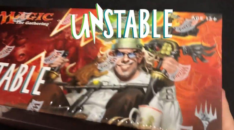 MTG「Unstable」のボックス開封動画がYouTube「ゼロからはじめる開封対戦」様にて公開!